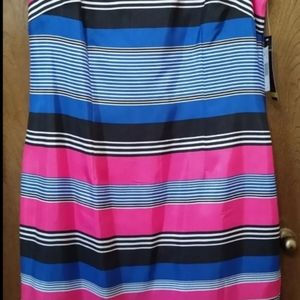 Brand New Casual striped sleeveless Dress